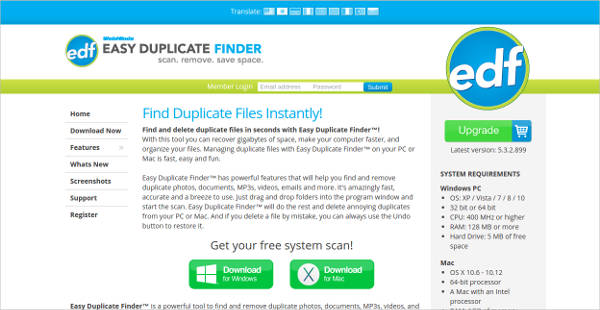 easy duplicate finder for mac