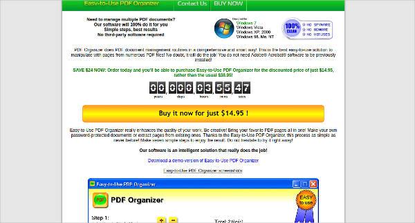 easy to use pdf organizer