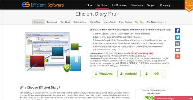 efficient diary pro1