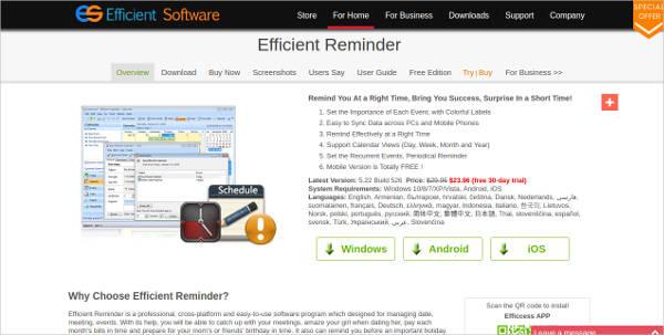 efficient reminder2