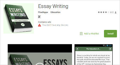 Essay writer mac