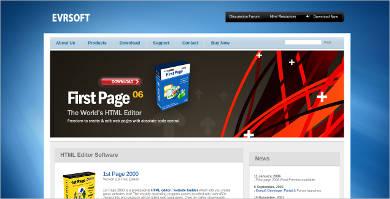 evrsoft html editor