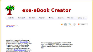 exe ebook creator most popular software