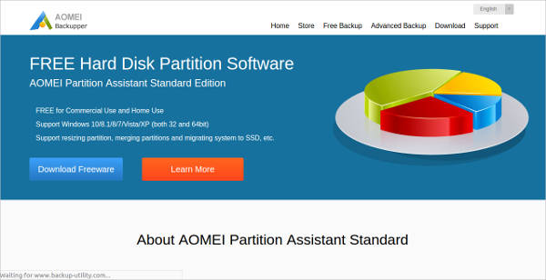 free hard disk partition software