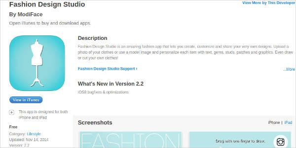 fashion design studio for mac