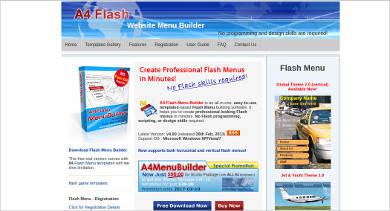 flash menu builder1