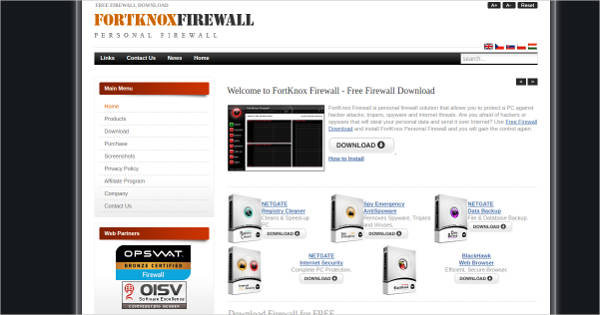 fortknox firewall