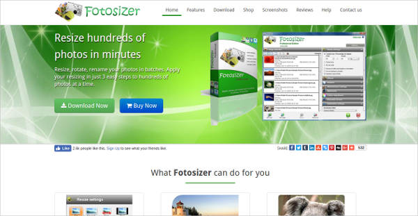 fotosizer most popular software