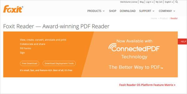 foxit reader most popular software
