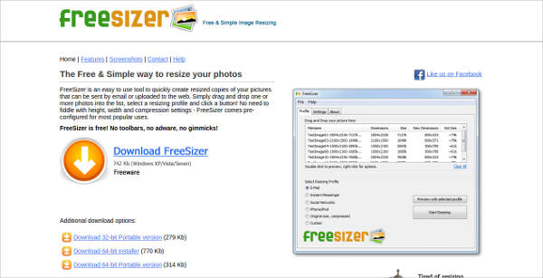 freesizer