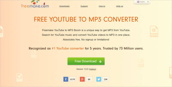 freemake youtube to mp3 boom for windows