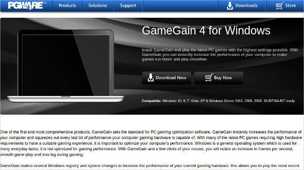 gamegain 4 for windows