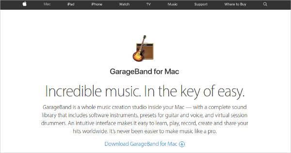 garageband for mac2