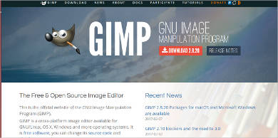 gimp for linux