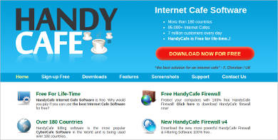 handycafe most popular software