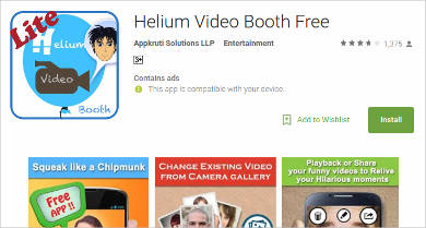 helium video booth free for android