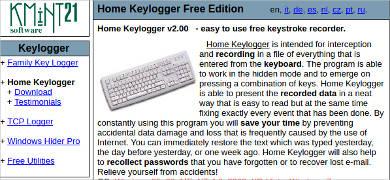 home keylogger v2