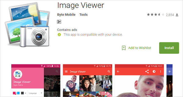 image viewer for android