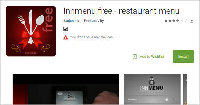 innmenu free for android