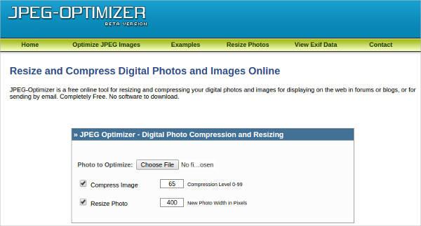 jpeg optimizer most popular software