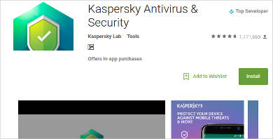 kaspersky antivirus security for android