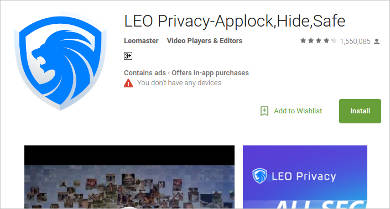leo privacy applockhidesafe for android