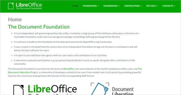 libreoffice for windows