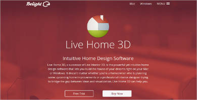 live home 3d most popular software