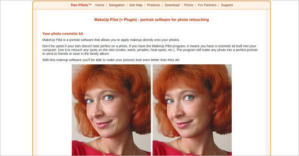 makeup pilot