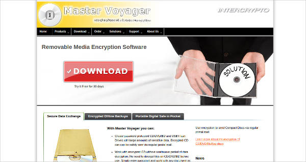 master voyager most popular software