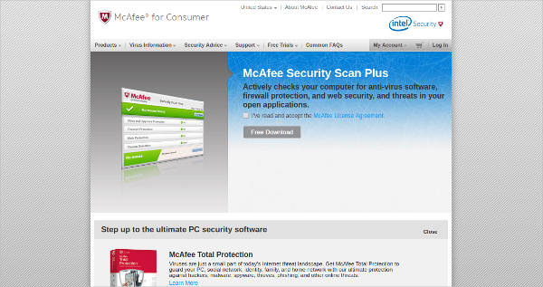 mcafee security scan plus1