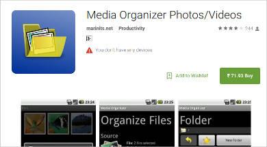 media organizer photosvideos for android