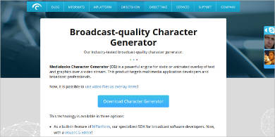 medialooks character generator for mac