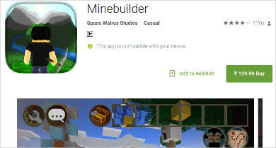 minebuilder for android