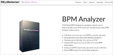 mixmeister bpm analyzer most popular software