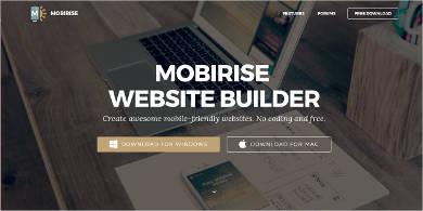 mobirise for mac