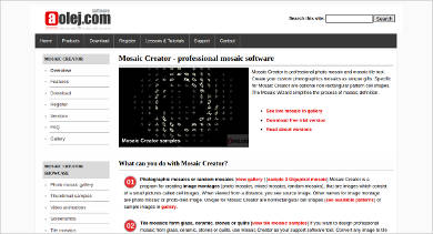 mosaic creator most popular software