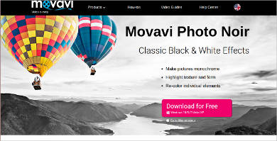 movavi photo noir most popular software