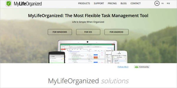 mylifeorganized most popular software