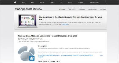 navicat data modeler essential for mac