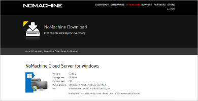 nomachine for windows