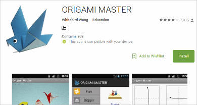 origami master for android