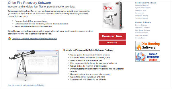 orion file recovery software1