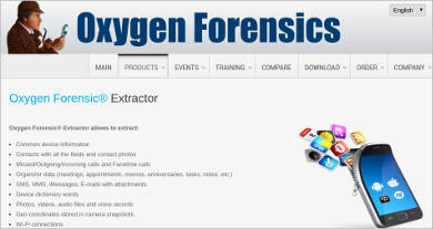 oxygen forensic extractor for windows