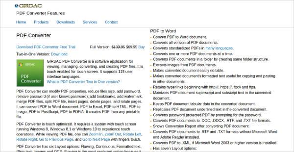pdf converter most popular software