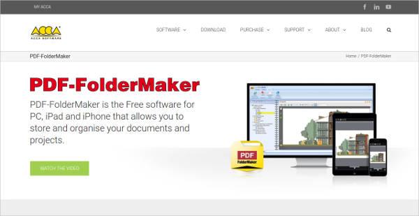 pdf foldermake