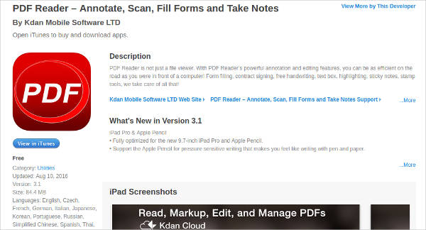 pdf reader annotate scan fill forms and take notes for mac