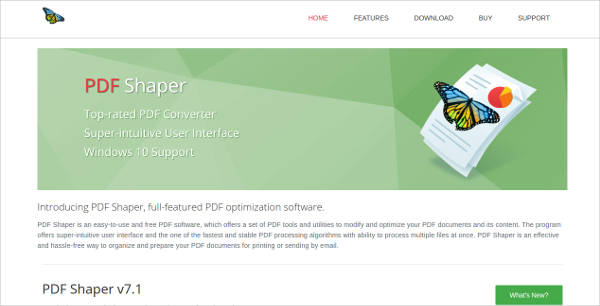 pdf shaper for windows