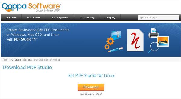pdf studio standard for linux