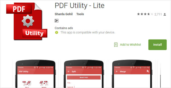 pdf utility lite for android2